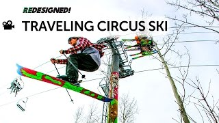 Download 2015 Traveling Circus Ski - TOTALLY REDESIGNED! AS FUN TO RIDE AS THE SHOW IS TO WATCH Video
