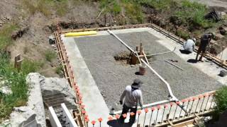 Download LOGIX ICF basement construction start to finish Video