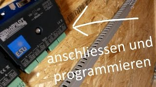Download ESU: SwitchPilot anschliessen und programmieren - Bau einer Modellbahnanlage Video