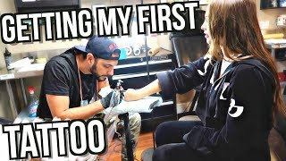 Download GETTING MY FIRST TATTOO + MEANING! | Kenzie Elizabeth Video
