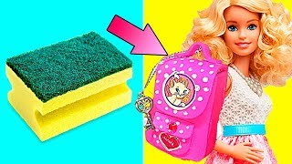 Download DIY Barbie Dresses | Making Easy Clothes and Barbie Doll Miniatures | Creative Fun For Kids Video