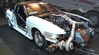 Download TWIN TURBO Ford Mustang - 102mm Turbochargers! Video