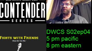 Download Dana White Contender Series S02 Episode 4 Live reaction! Video