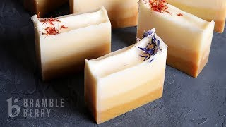 Download Turmeric Ombre Cold Process Soap Video
