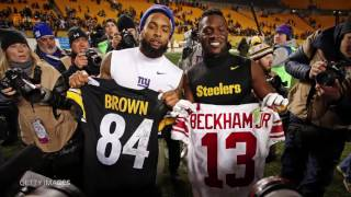 Download Odell Beckham Jr Enjoys Antonio Brown's TD Celebration Video