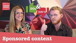Download Do's & Don'ts: Monetization Policies for Paid Product Placements and Endorsements (aka. brand deals) Video