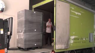 Download Plastic Pallets - Loading at Simax's Warehouse Video