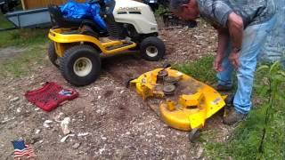 Download Cub Cadet Mower Deck Repair Video