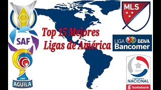 Download Top 15 Mejores Ligas de Fútbol de América Video