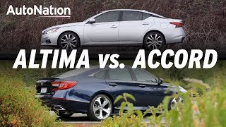 Download 2019 Honda Accord vs Nissan Altima: Which is Best? #autonationdrive Video