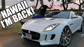 Download Driving Around Hawaii In A Jaguar F-Type & Living Life!! Video