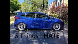 Download 5 Things I HATE About The Focus ST Video