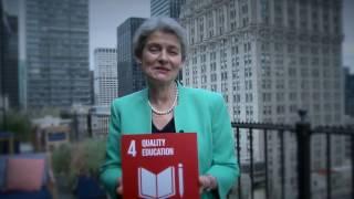 Download SDG4 QUALITY EDUCATION – Irina Bokova, UNESCO Video