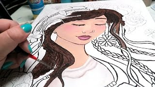 Download MORE ACRYLIC PAINTING! Video