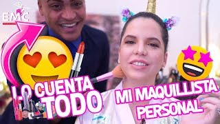 Download LES PRESENTO A MI MAQUILLISTA PERSONAL 👑 | LOOK NATURAL | EL MUNDO DE CAMILA Video