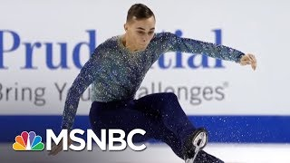 Download Olympic Athlete Adam Rippon Shines Light On Mike Pence's Anti-LGBT Record   AM Joy   MSNBC Video