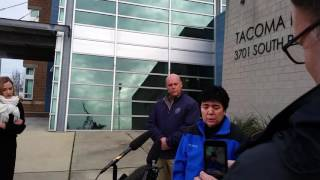 Download Tacoma police respond to public's support following fatal shooting of officer Video