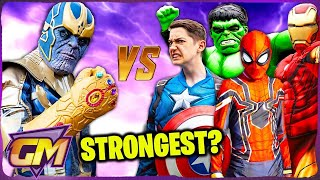 Download Avengers Kids Vs Thanos - Who Is The Strongest? Video
