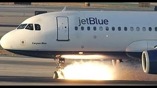 Download JetBlue Landing Gear Failure at LAX [HD][Part 2] Video