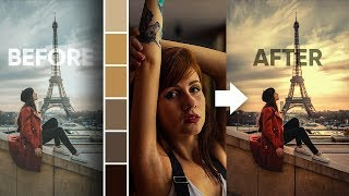 Download Steal the Color Grading from Any Image with Photoshop! Video