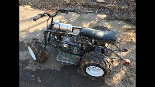 Download rebuilding the two speed mini green ATV part 3 Video