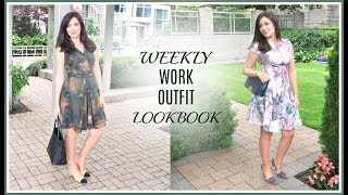 Download WEEKLY WORK OUTFIT LOOKBOOK Video