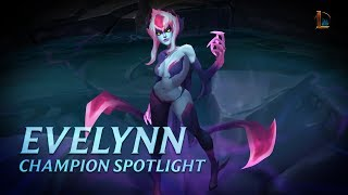 Download Evelynn Champion Spotlight | Gameplay - League of Legends Video