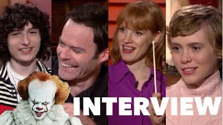 Download IT: CHAPTER TWO Funny Cast Interviews: Stars Talk Greatest Fears, Extended Cut, Skarsgard On Set Video