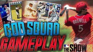 Download Best Team in MLB The Show 18 Diamond Dynasty God Squad Gameplay! 99 Immortal Vlad! Grand Slam! Video