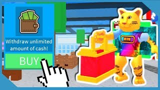 Download BUYING THE INFINITE WALLET AND MAKING MILLIONS IN ROBLOX SHOPPING SIMULATOR Video