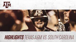 Download Baseball: Highlights | A&M 8, South Carolina 2 Video
