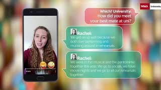 Download Grease and pantomimes: How Rachel met her best mate at uni | Which? University Video