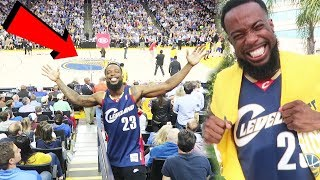 Download RIPPING MY GSW SHIRT IN FRONT OF ANGRY FANS! AT THE WARRIORS GAME! KD EJECTED!! Video