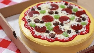 Download HOW TO MAKE A CAKE PIZZA - NERDY NUMMIES Video