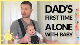Download Dad Left Alone With Baby! (Funny Ad) Video