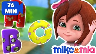 Download ABC Songs for Children | ABCD Alphabet Song | Nursery Rhymes & Kids Songs Collection by Mike and Mia Video