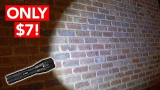 Download Best LED Tactical Rechargeable Flashlight (ONLY $7!) Video