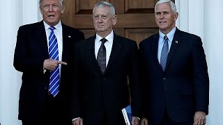 Download Federal law will have to be bypassed if Trump favourite James Mattis is to take Secretary of… Video