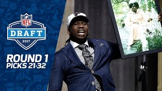 Download Picks 21-32: Two potential steals, and DEFENSE dominates (Round 1) | 2017 NFL Draft Video