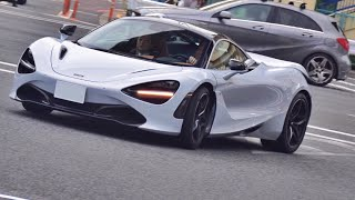 Download 【目撃】新型マクラーレン720S サウンド/First Mclaren 720s in Japan. Exhaust sound. Video