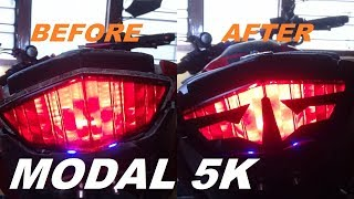 Download How to Make Manual Cutting Sticker STOP LAMP Vixion fz150i | #AndreasDAP 32 Video