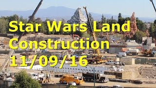 Download Star Wars Land Construction Disneyland 11-09-16 Video