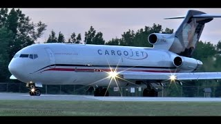 Download CLOSE-UP Sunset Takeoff | Cargojet 727 Video