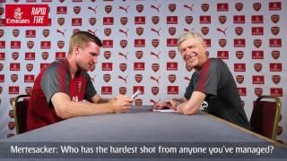Download Per Mertesacker v Arsène Wenger   Emirates Airline Video