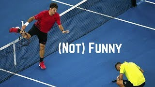 Download Tennis. Hitting The Opponent #Not Funny #Funny Moments Video