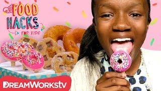Download Donut Popsicle + MORE Donut Hacks! | FOOD HACKS FOR KIDS Video