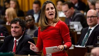 Download Chrystia Freeland heckled in House of Commons over USMCA deal Video