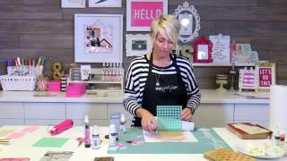 Download How to Use Texture Paste with Stencils | Lesson 6 | Heidi Swapp Video