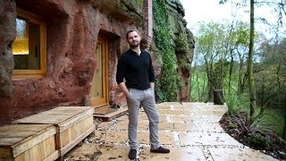 Download Modern Caveman - Man Builds A $230,000 House In 700-Year-Old Cave Video
