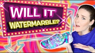 Download Will It Watermarble?! Watermarbling 10 random objects in nail polish! Video